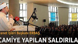 DİB Başkanı Erbaş,
