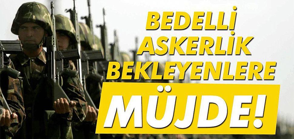 Erdoğan acıkladı bedelli askerlik geliyor.