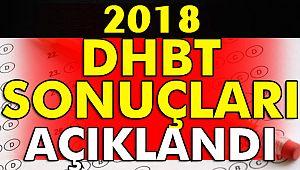 2018 dhbt sınav sonucları acıklandı.