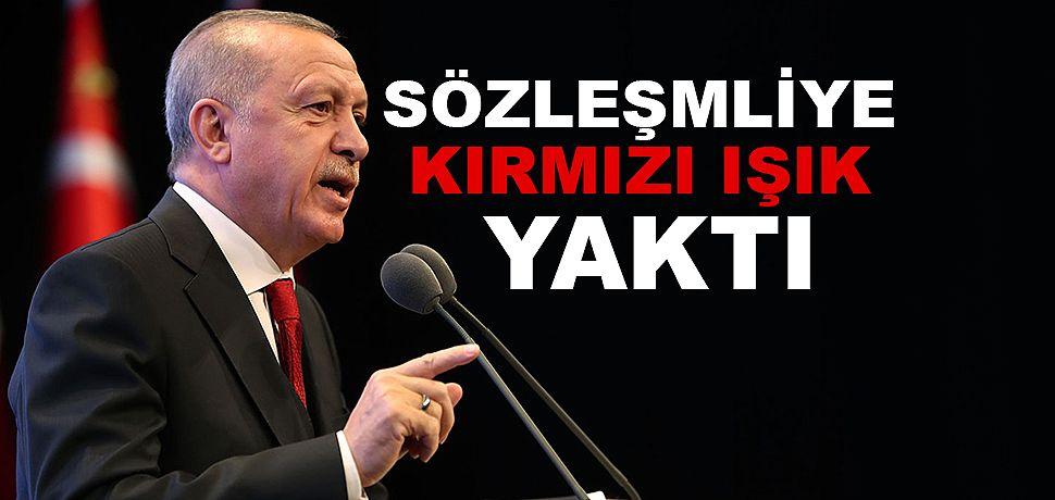 Erdoğan'dan Sözleşmelilere kadroya Kırmızı Işık