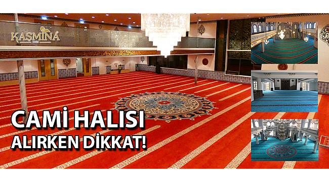 Kaşmina Cami halısı Kampanyası