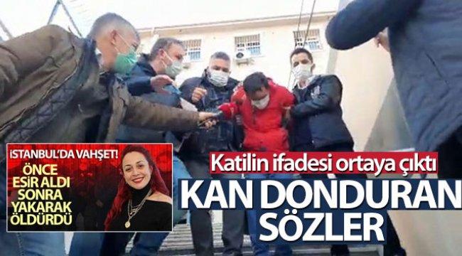Aylin Sözer cinayetinde katil zanlısının ifadesi ortaya çıktı