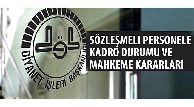 Sözleşmeli Personele Kardo durumu ve Mahkeme kararı