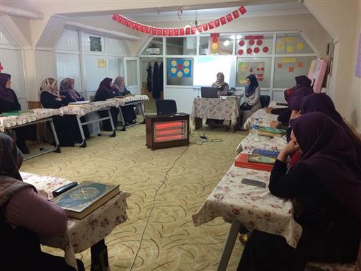 """Erzurum Müftülüğü """"adalet ve ihsan bağlamında aile"""" temalı seminer"""