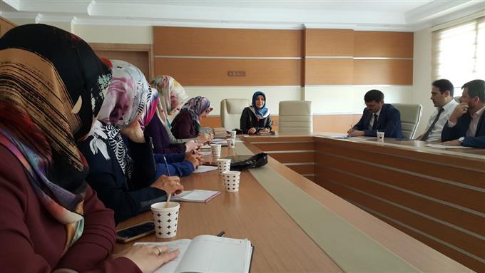 Aydın Müftülüğü'nde Aile Ve Dini Rehberlik Bürosu Koordinatörleri Toplantısı