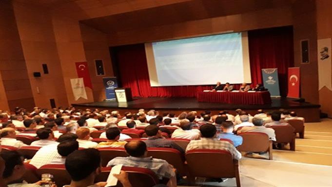 """Bartin Müftülüğü bartın'da """"din istismarı ile mücadele"""" semineri düzenlendi."""