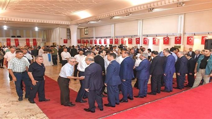 Adana Müftülüğünde bayramlaşma töreni
