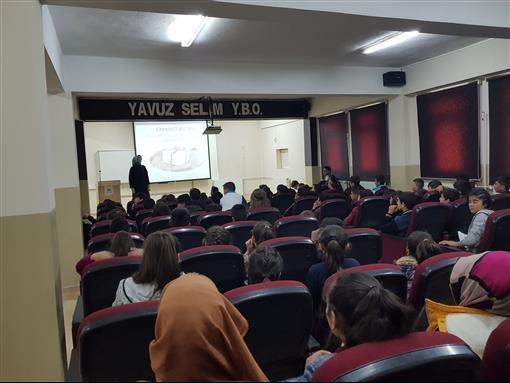 Erzurum Müftülüğü değerler eğitimi seminerleri