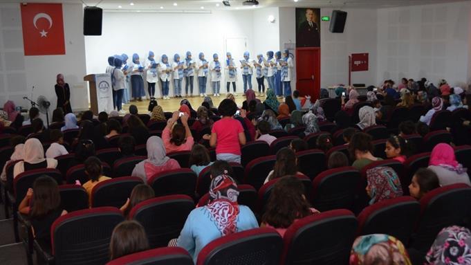 Denizli Il Gençlik Koordinatörlüğü'nün Gençlere Yönelik Kurs Kapanış Programı