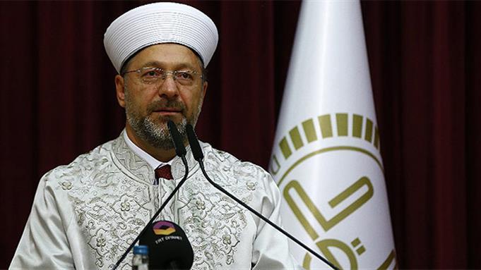 Diyanet işleri başkanı prof. dr. Ali Erbaş'tan ramazan bayramı mesajı
