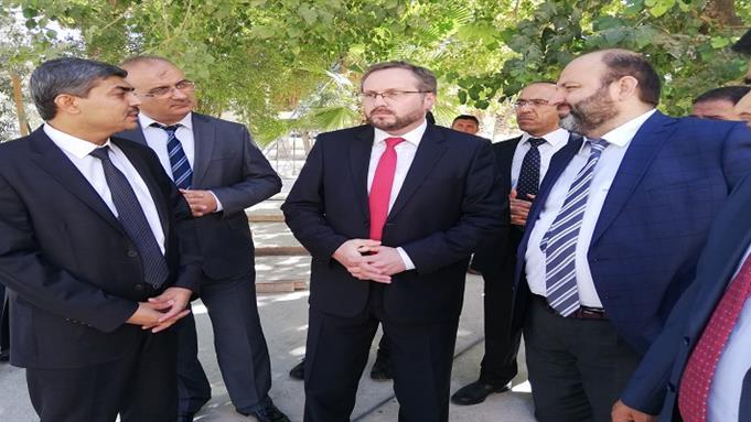 Şanlıurfa eğitim merkezini Diyanet Işleri Başkan Yardımcısı Dr.selim Argun Ilimizi Ziyaret Etti