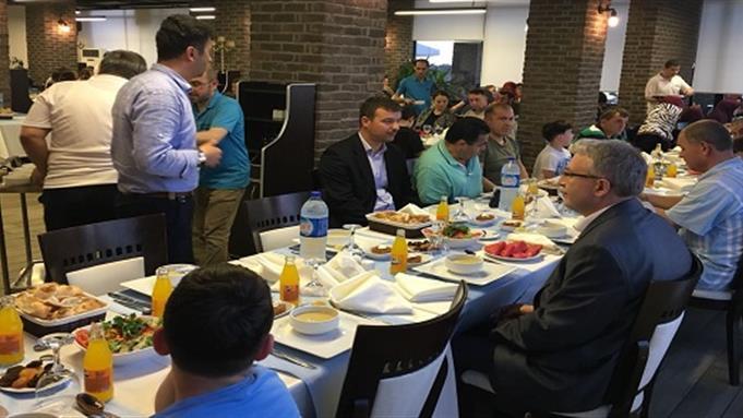 Zonguldakta engelli vatandaşlarımızla iftar heyecanı