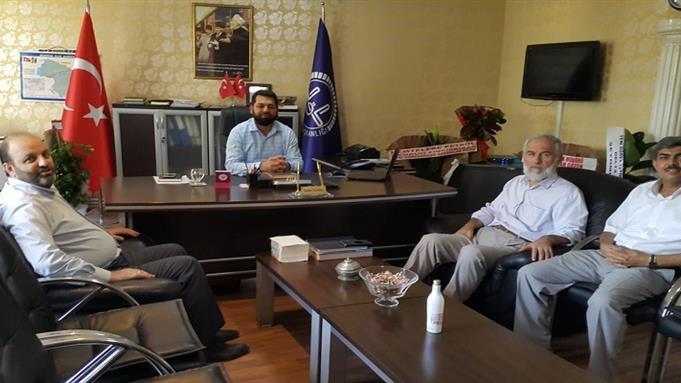 Şanlıurfa Eğitim Merkezi Müdürümüz Dr.ahmet Gündüz'ün Siverek Ilçe Müftüsü'nü Ziyareti