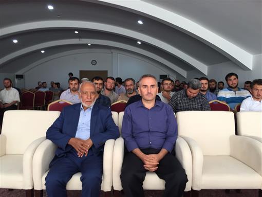 Konya Eğitim Merkezinde Evrensel Hafızlar Derneği Genel Başkanı Harun Aytaç'dan Konferans