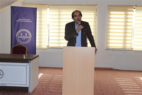 Konya Eğitim Merkezi Prof. Dr. Ahmet Yaman' Dan Konferans