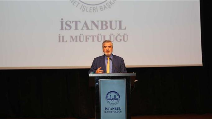 """İstanbul Müftülüğü """"gençlik Ve Hz. Peygamber"""" Konferansı"""
