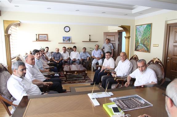 Canakkale de ramazan ayı değerlendirme toplantısı yapıldı