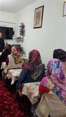 """Erzurum Müftülüğü """"sabır eğitimi ve çocuk eğitiminde sabır"""" konulu seminer"""