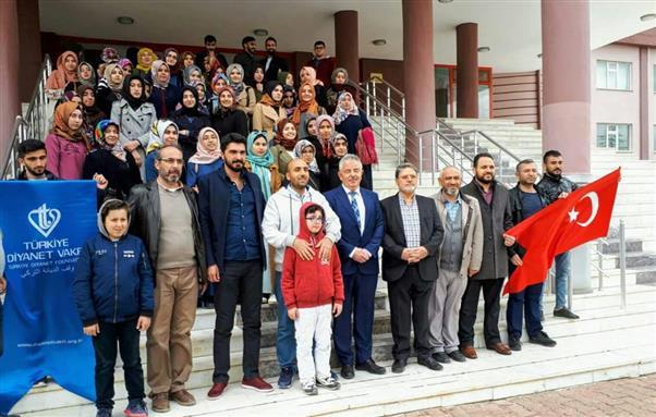 Yozgat bozok üniversitesi öğrencileri nevşehir'de