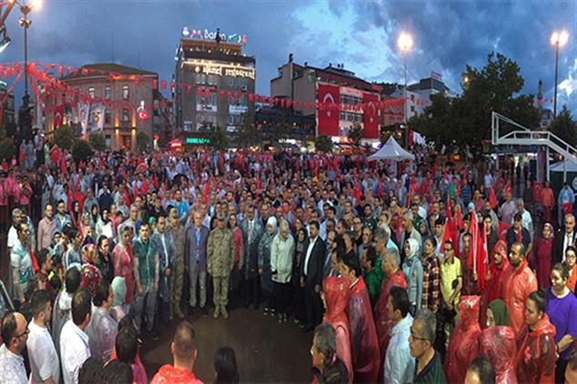 Giresun'da 15 Temmuz Demokrasi Ve Milli Birlik Günü Buluşması
