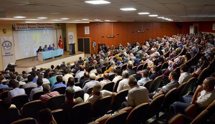 """Konya'da """"15 Temmuz Ruhu Ihanete Karşı Millet Destanı"""" Konferansı Yapıldı"""