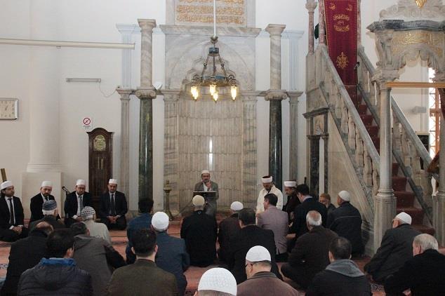 İzmir'de 18 Mart şehitleri Anma Günü Münasebetiyle Mevlid-i şerif Programı Düzenlendi.