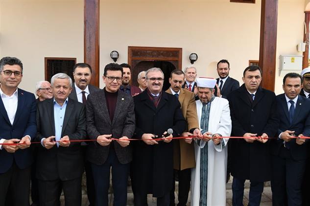 Antalya'da 1900'lü Yıllarda Inşa Edilen Bağyaka Camii Restorasyon çalışmalarının Ardından Tekrardan Ibadete Açıldı