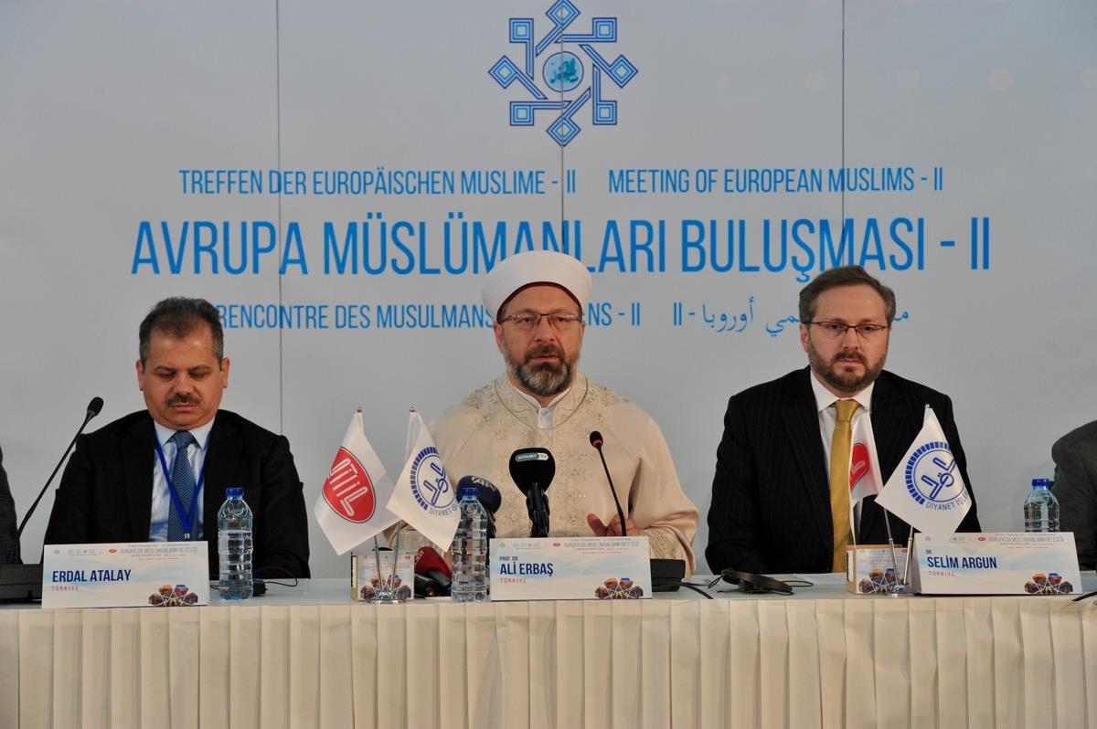 2. Avrupa Müslümanlar Buluşması Sonuç Bildirgesiyle Tamamlandı