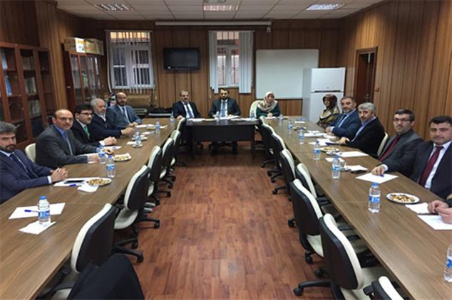 Rize'de 2018 Yılının Son Ilçe Müftüleri Toplantısı Iyidere'de Yapıldı