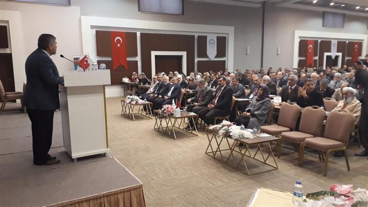 Antalya'da 2019-2020 Yılı Umre Organizasyonunda Grup Oluşturan Görevliler Semineri Başladı