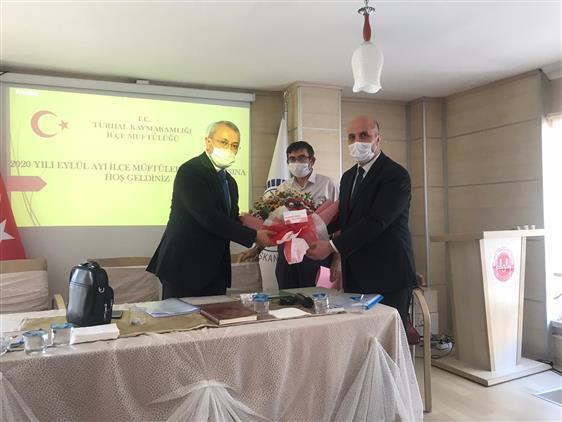 Tokat'da 2020 Yılı Eylül Ayı Ilçe Müftüler Toplantısı Turhal Ilçe Müftülüğü'nde Gerçekleştirildi.