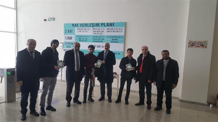Bitlis'de 2020 Yılı Mevlid-i Nebi Gençlik Bilgi Yarışması'nın Tanıtımı Yapıldı.
