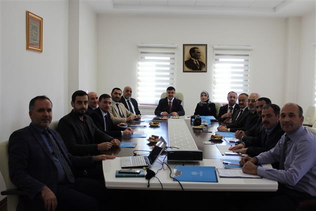 Gaziantep'de 2020 Yılı Eylem Planı Toplantısı Yapıldı..