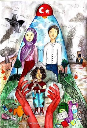"""Edirne'de 2020 Yılı """"göç Ve Aile"""" Temalı Resim Yarışması"""