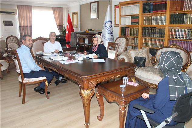 2020 Yılı ıı. Dönem Hafızlık Tespit Sınavı Osmaniye Il Müftülüğümüzde Başladı