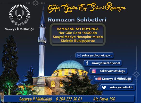 Sakarya'de 2020 Yılı Ramazan Ayı
