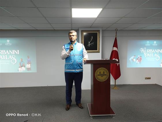 Kahramanmaras'da 2021 Yılı Vekâletle Kurban Kesim Organizasyonu Tanıtım Toplantısı Yapıldı