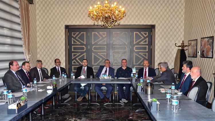 Mersin'de 3. Bölge Il Müftüleri Istişare Ve Iş Birliği Toplantısı Kahramanmaraş'ta Yapıldı