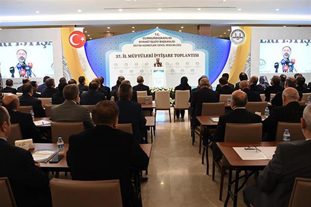 Rize'de 37. Il Müftüleri Istişare Toplantısı Antalya'da Başladı