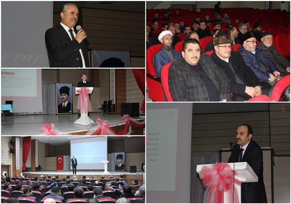 Erzincan'da ''temel Aile Bilinci Eğitimi'' Seminerleri Tamamlandı