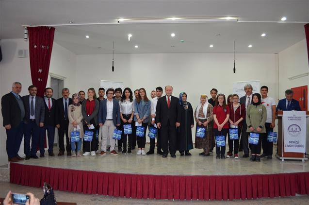 Denizli'de 'çanakkale şehitlerine' şiirini Ezbere Okuma Yarışması Il Finali Yapıldı