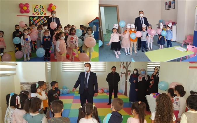 Erzincan'da 4-6 Yaş Grubu Kur'an Kurslarına Mevlid-i Nebi Haftası Ziyareti