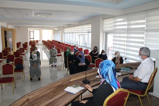 Isparta'da 4-6 Yaş Kur'an Kurslarında 2020-2021 Eğitim-öğretim Yılı Faaliyetleri Toplantısı