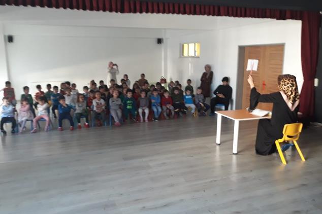 Giresun'da 4-6 Yaş Kur'an Kursunda Mevlid-i Nebi Haftası Etkinliği