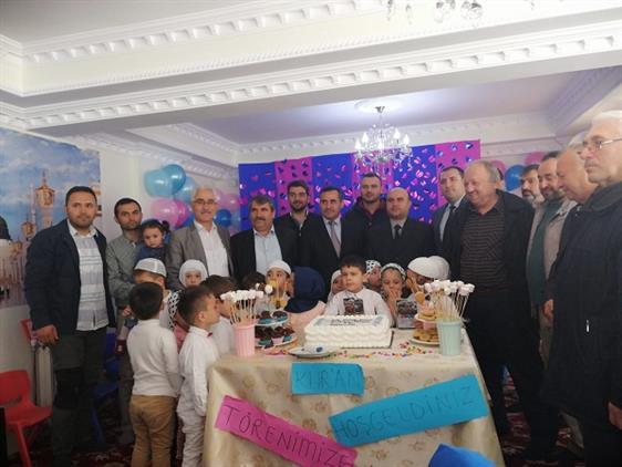 Bartın'da 4-6 Yaş öğrencileri Için Kur'an-ı Kerime Geçme Töreni Düzenlendi