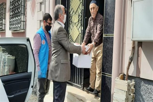 Kilis'de 65 Yaş üzeri Emekli Din Görevlilerimize Sosyal Vefa Desteği