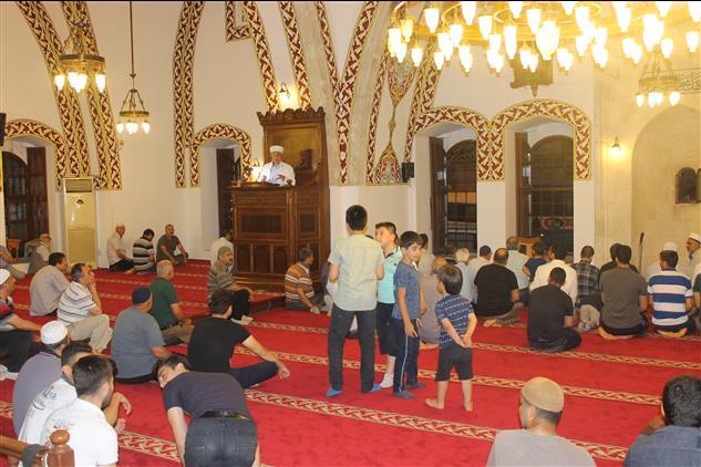 Hatay'da 7. Habib-i Neccar Hazretlerini Anma Etkinlikleri Kapsamında Habib-i Neccar Camiinde Vaaz Ve Kur'an Ziyafeti Programı Düzenlendi