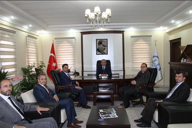 Kilis'de Adalet Komisyon Başkanlığından Il Müftülüğümüze Ziyaret