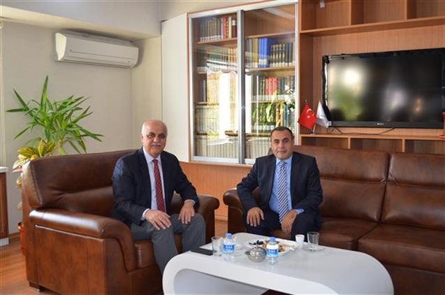 Malatya'da Adli Yargı Adalet Komisyonu Başkanı Izzettin Duman Il Müftümüzü Ziyaret Etti
