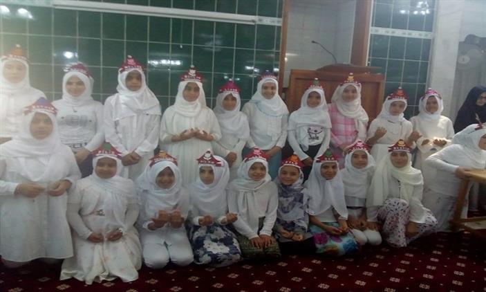 Mersin'de Adrb Akdeniz Halil Ibrahim Camii Kur'an Kursunda Yaz Kur'an Kursu Kapanış Programı Düzenledi